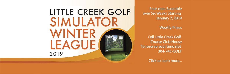 Little Creek Golf Simulator Winter League 2019